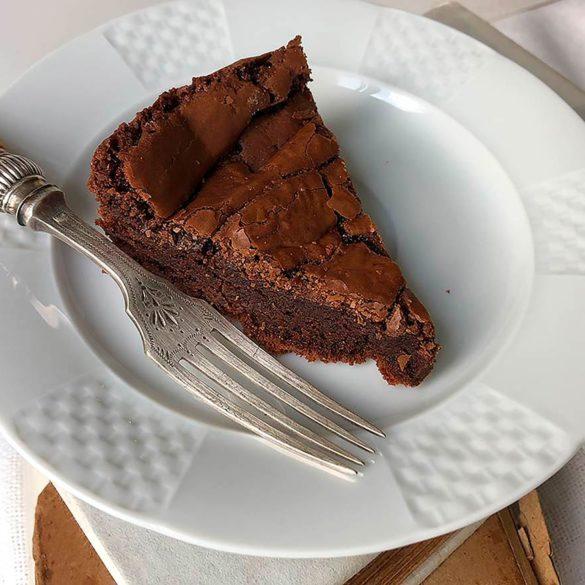 Bolo Brownie www.cozinhadamarcia.com.br