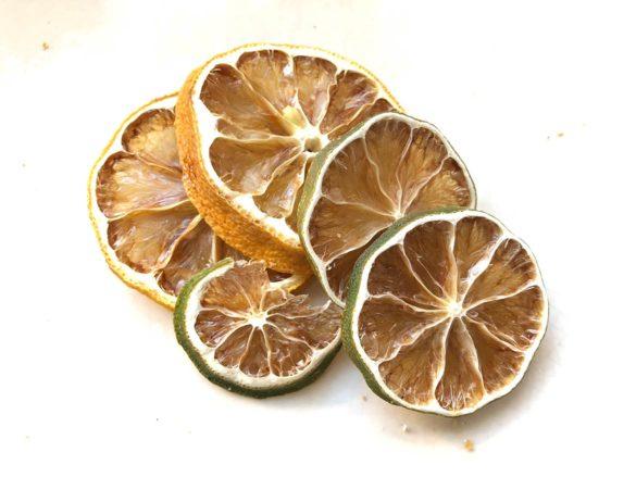 Limão e laranja secos www.cozinhadamarcia.com.br