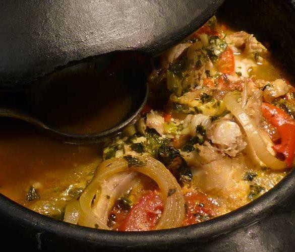 Cozido de peixe fresco. Foto: Marcia Zoladz
