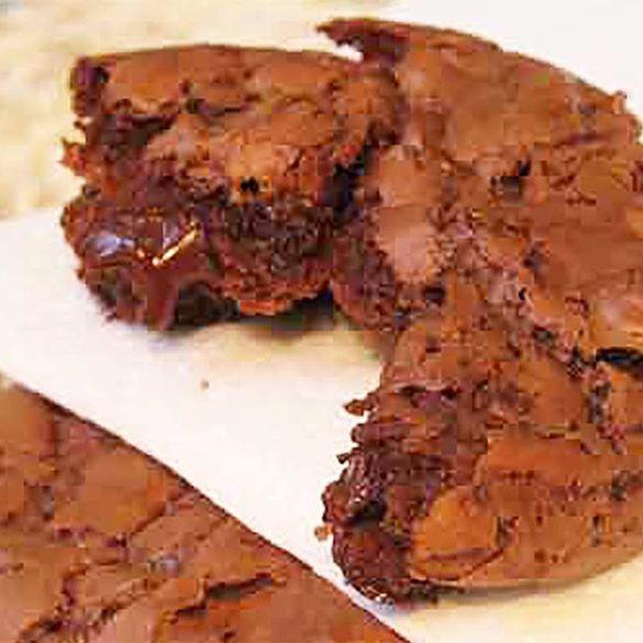 Bicoitos de chocolate macios. Foto Marcia Zoladz