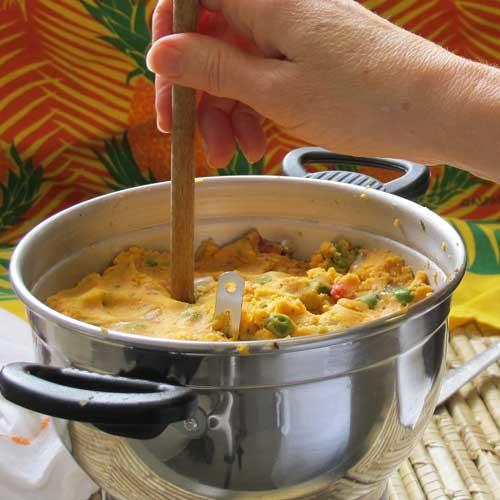 Passo-a-passo do cuscuz de camrão www.cozinhadamarcia.com.br