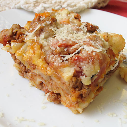 lasanha com molho de carne www.cozinhadamarcia.com.br