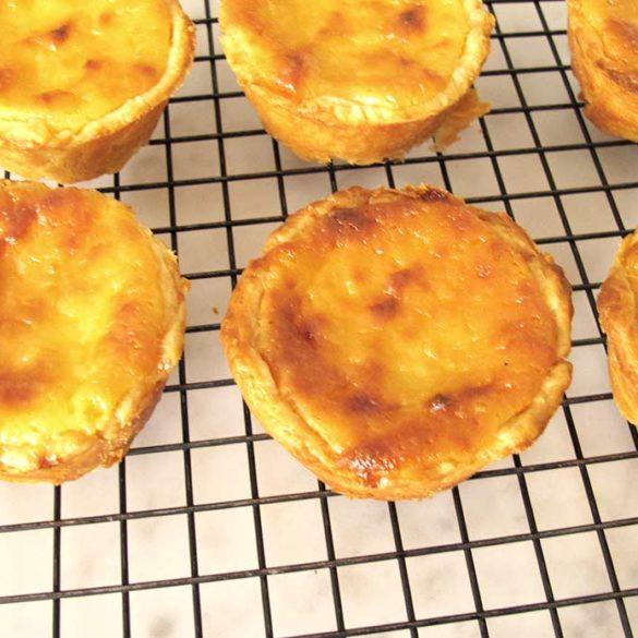Pasteis de nata portugueses deliciosos. Foto Marcia Zoladz