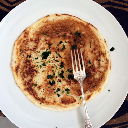 Panqueca de polvilho azedowww.cozinhadamarcia.com.br