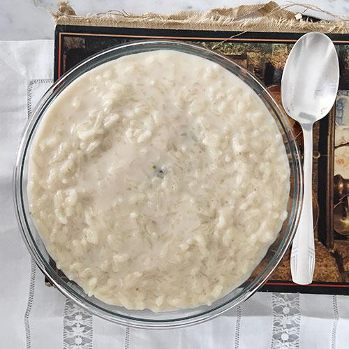 Receita de arroz doce português cremoso. Foto Marcia Zoladz