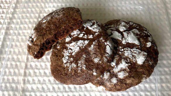 Bolacha de chocolate com canela da Cozinha da Marcia