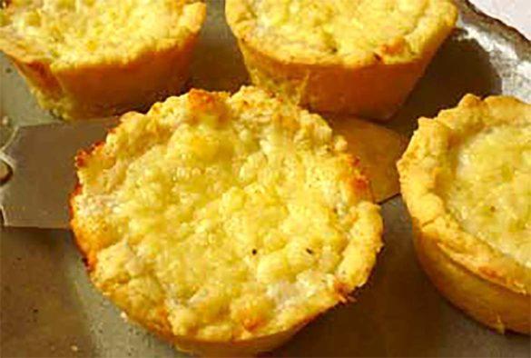 Empadinha de queijo super fácil. Foto Marcia Zoladz