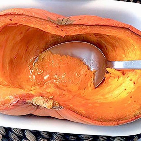 Abóbora moranga assada. Foto: Marcia Zoladz