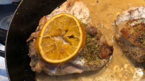 Frango com lemon pepper www.cozinhadamarcia.com.br
