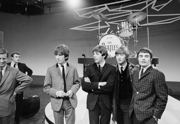 The Beatles em Treslong. Foto:WikiCommons/Noord-Hollands Archief / Fotoburo de Boer